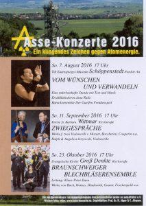 2016 Asse Konzerte