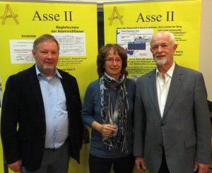 Die Referenten: Dr. Ralf Krupp, Heike Wiegel, Dr.-Ing. Frank Hoffmann